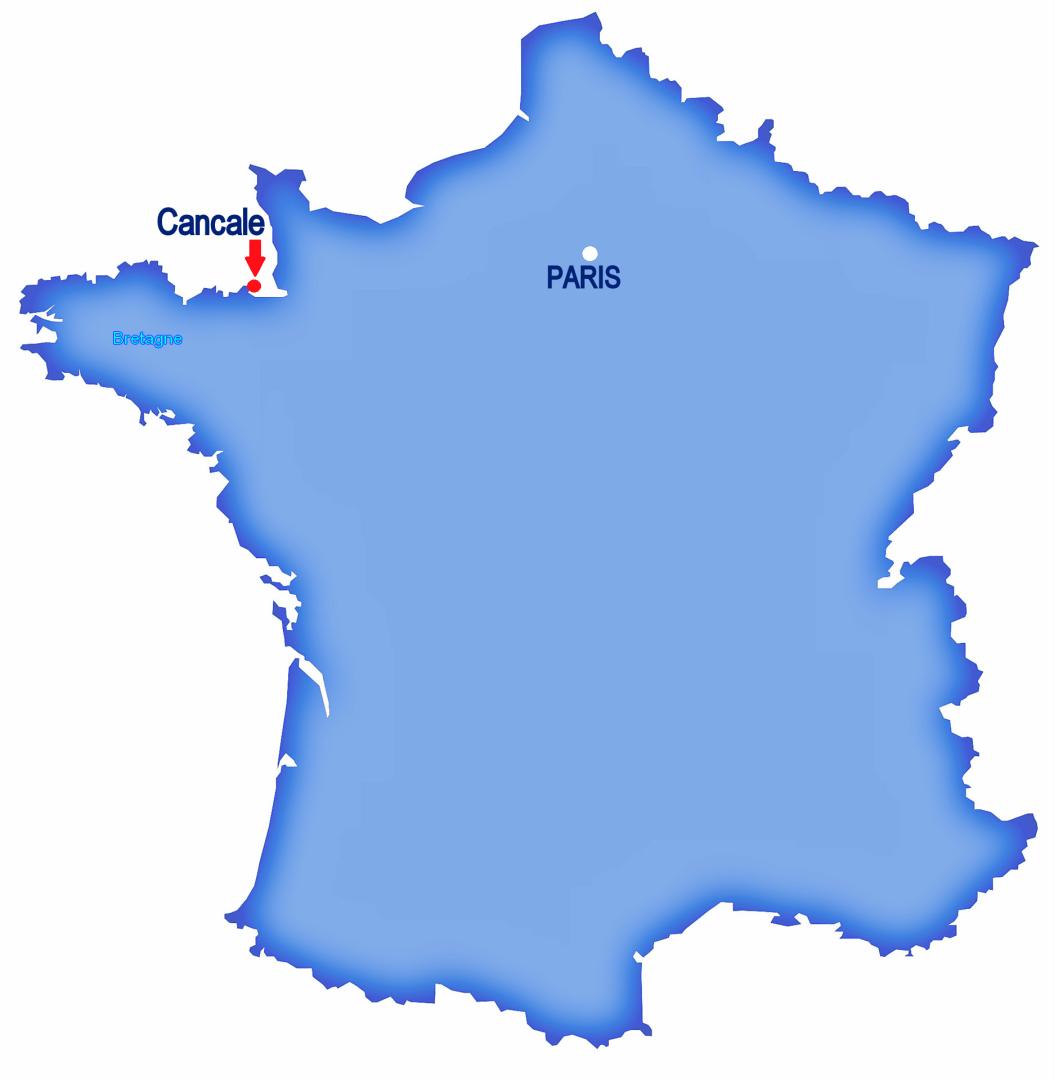 Paris carte France